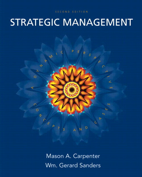 Strategic Management: Concepts and Cases, CourseSmart eTextbook, 2nd Edition