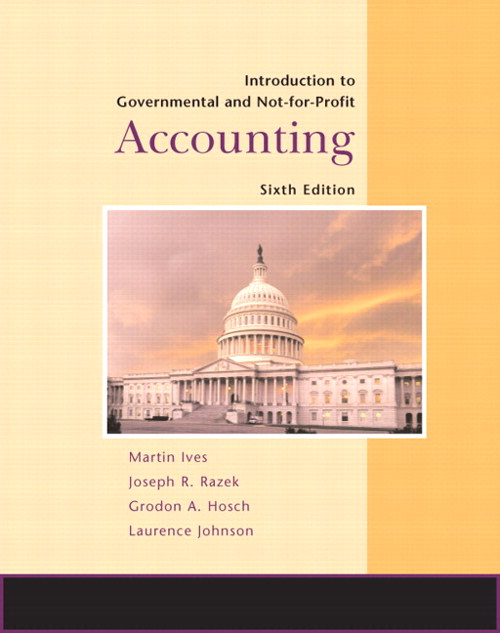 Introduction to Government and Non-for-Profit Accounting, CourseSmart eTextbook, 6th Edition