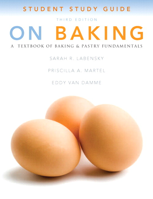 Cover image for Study Guide for On Baking, 3rd Edition