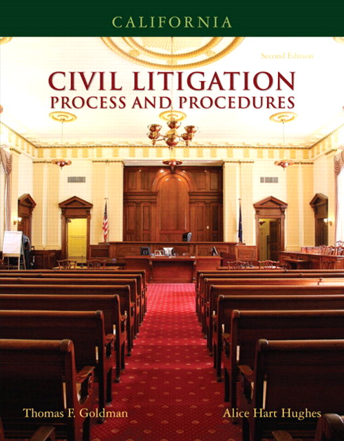 California Civil Litigation, CourseSmart eTextbook, 2nd Edition