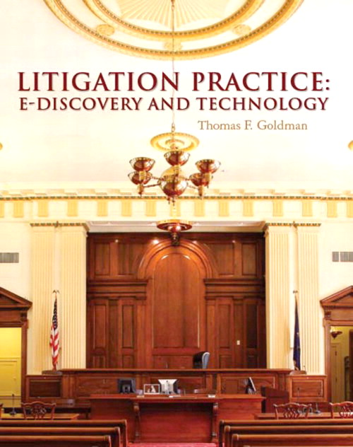 Litigation Practice: E-Discovery and Technology, CourseSmart eTextbook