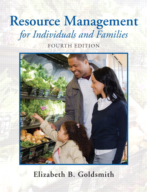 Resource Management for Individuals and Families, CourseSmart eTextbook, 4th Edition