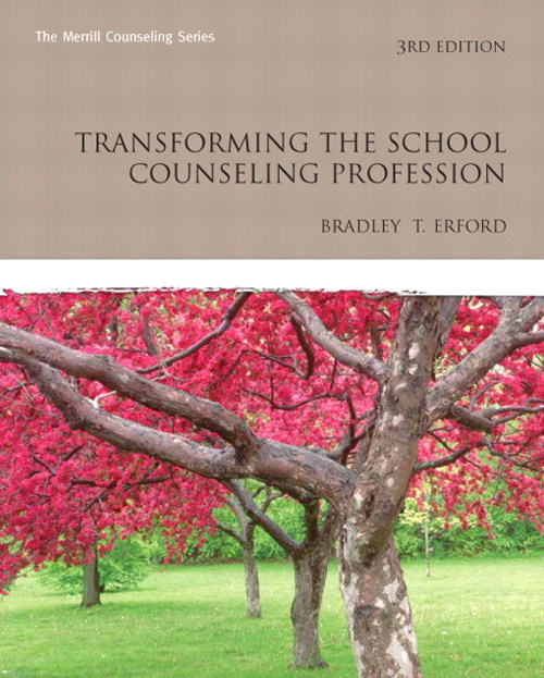 Transforming the School Counseling Profession, CourseSmart eTextbook, 3rd Edition