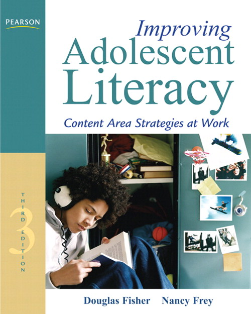 Improving Adolescent Literacy: Content Area Strategies at Work, CourseSmart eTextbook, 3rd Edition