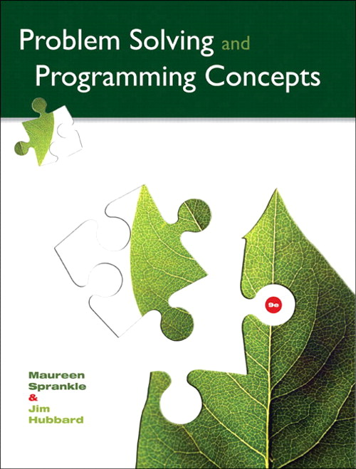 Problem Solving and Programming Concepts, CourseSmart eTextbook, 9th Edition