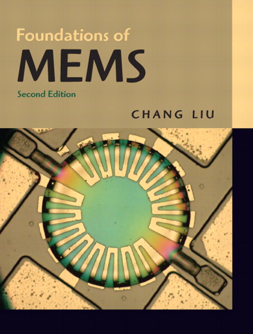 Foundations of MEMS, CourseSmart eTextbook, 2nd Edition