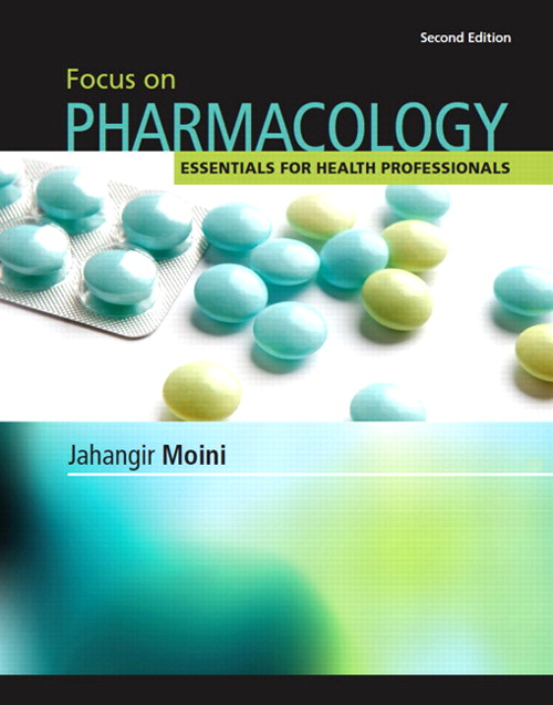 Focus on Pharmacology, CourseSmart eTextbook, 2nd Edition