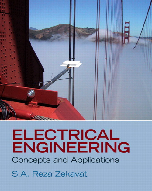 Electrical Engineering: Concepts and Applications, CourseSmart eTextbook