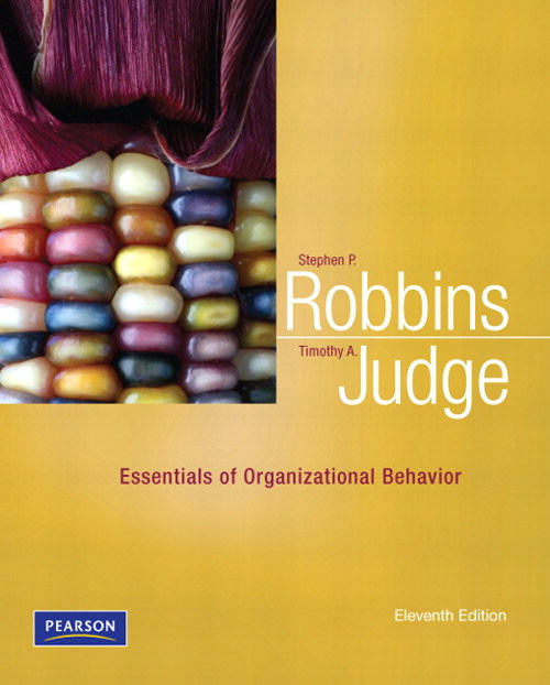 Essentials for Organizational Behavior, CourseSmart eTextbook, 11th Edition