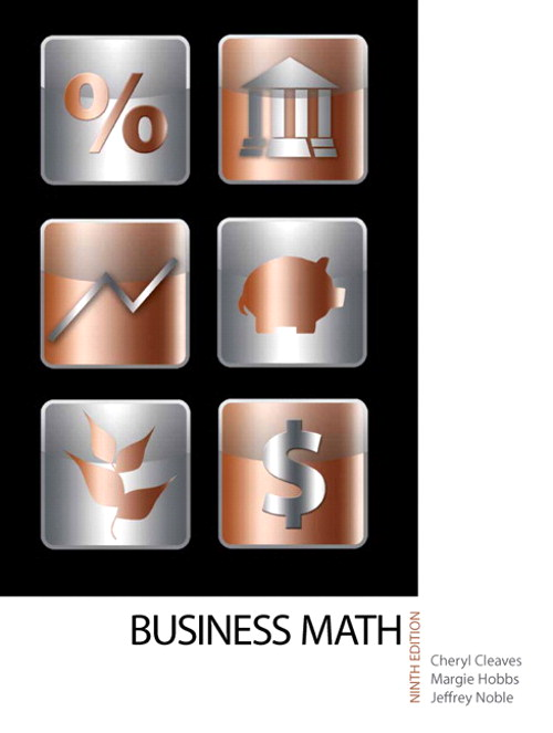 Business Mathematics, CourseSmart eTextbook, 9th Edition