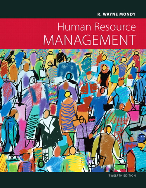 Human Resource Management, CourseSmart eTextbook, 12th Edition