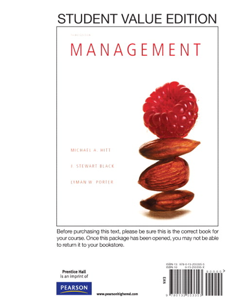 Management, Student Value Edition, 3rd Edition