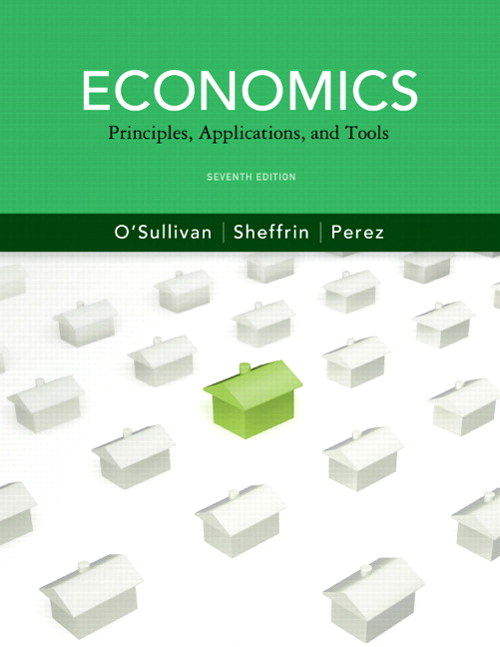 Economics: Principles, Applications and Tools, CourseSmart eTextbook, 7th Edition