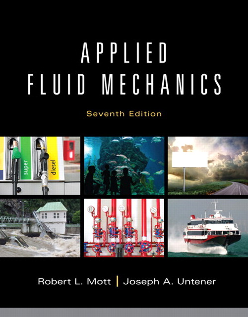 Applied Fluid Mechanics, CourseSmart eTextbook, 7th Edition
