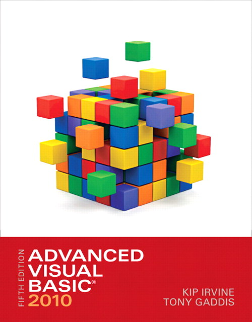 Advanced Visual Basic 2010, CourseSmart eTextbook, 5th Edition
