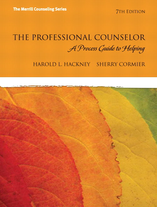 Professional Counselor, The: A Process Guide to Helping, 7th Edition