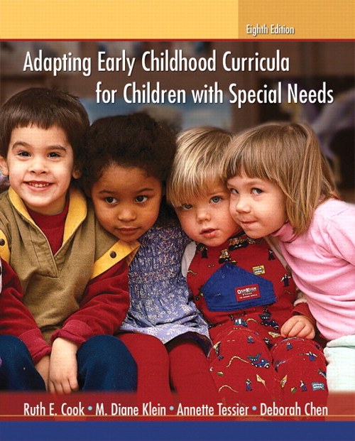 Adapting Early Childhood Curricula for Children with Special Needs, CourseSmart eTextbook, 8th Edition