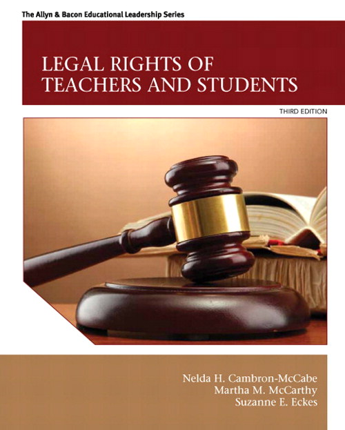 Legal Rights of Teachers and Students, CourseSmart eTextbook, 3rd Edition