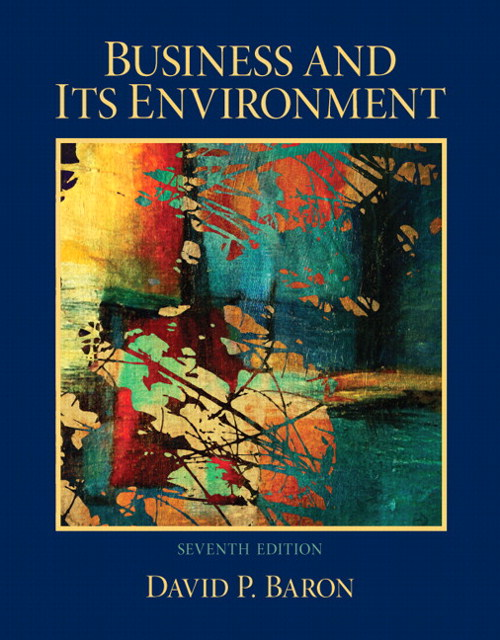 Business and Its Environment, CourseSmart eTextbook, 7th Edition