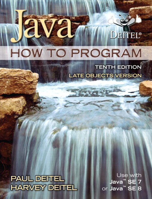 Java How To Program (late objects), CourseSmart eTextbook,, 10th Edition