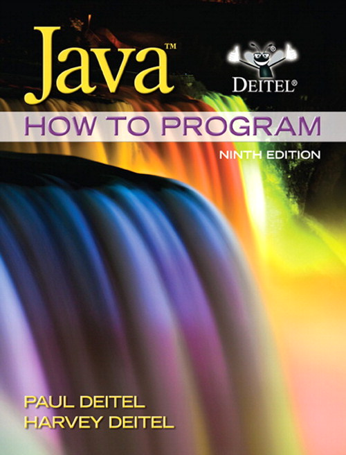 Java How to Program (early objects), CourseSmart eTextbook, 9th Edition
