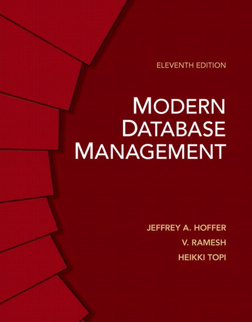 Modern Database Management, CourseSmart eTextbook, 11th Edition
