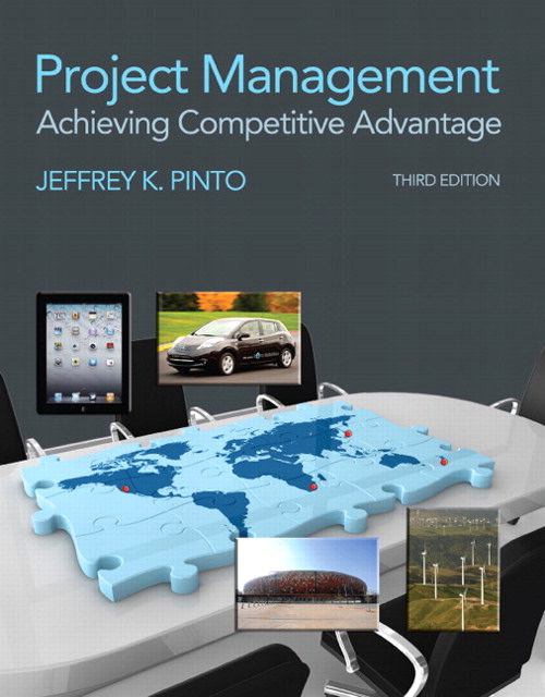 Project Management: Achieving Competitive Advantage, CourseSmart eTextbook, 3rd Edition