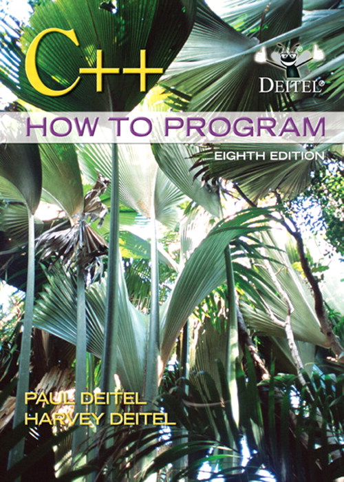 C++ How to Program, CourseSmart eTextbook, 8th Edition