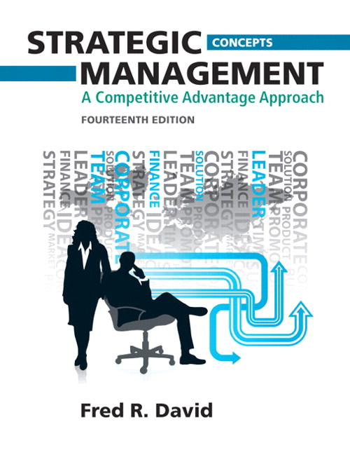 Strategic Management: A Competitive Advantage Approach, Concepts, 14th Edition