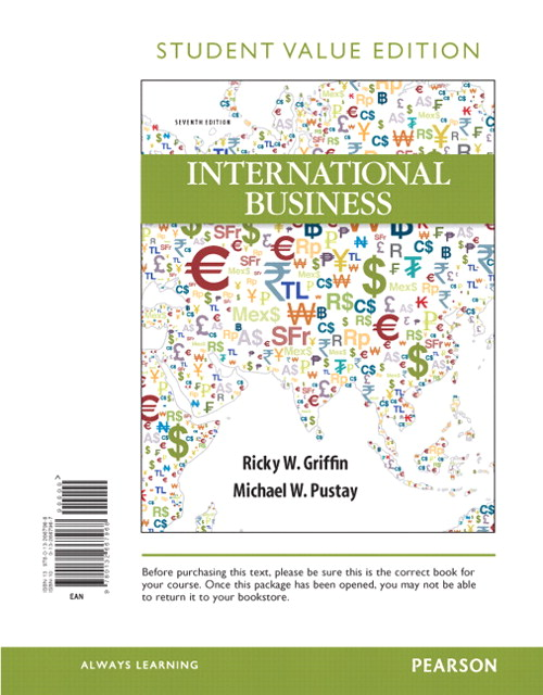 International Business, Student Value Edition, 7th Edition