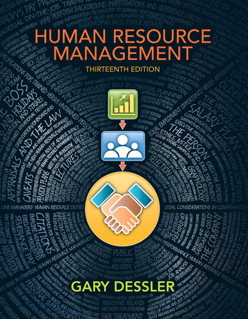Human Resource Management, CourseSmart eTextbook, 13th Edition