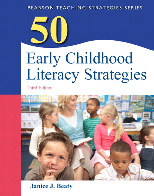 50 Early Childhood Literacy Strategies, CourseSmart eTextbook, 3rd Edition