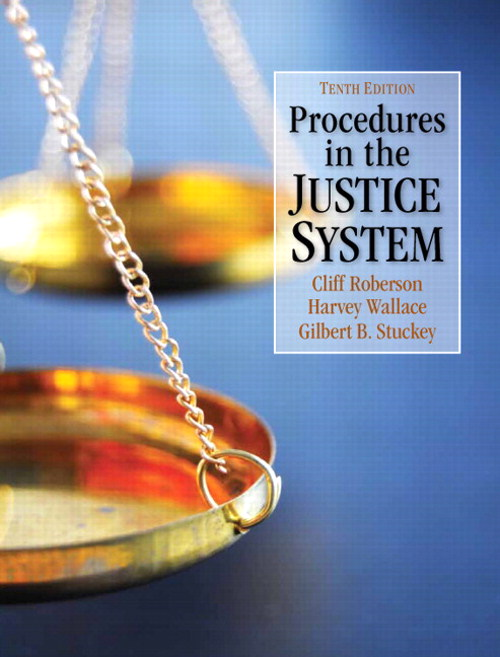 Procedures in the Justice System, CourseSmart eTextbook, 10th Edition