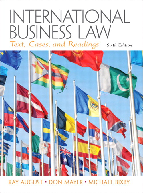 International Business Law, CourseSmart eTextbook, 6th Edition