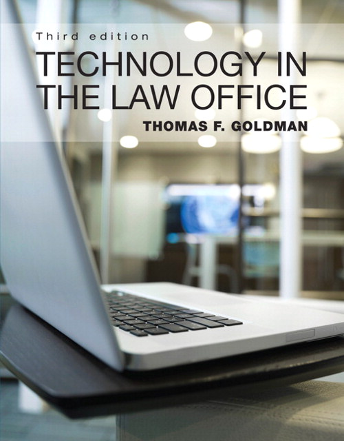 Technology in the Law Office, CourseSmart eTextbook, 3rd Edition
