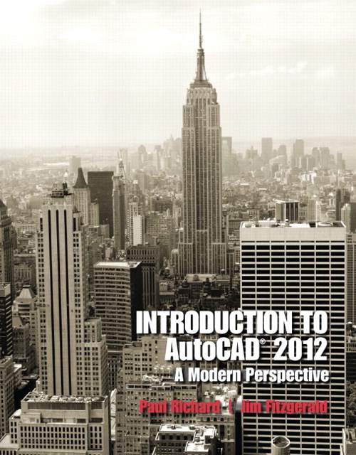Introduction to AutoCAD 2012: A Modern Perspective, CourseSmart etextbook