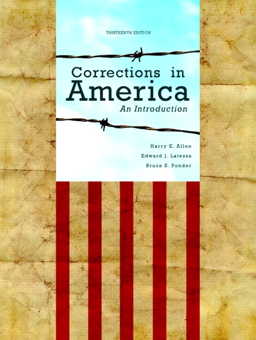 Corrections in America: An Introduction, 13th Edition