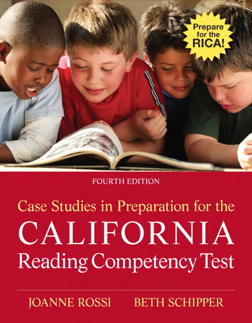 Case Studies in Preparation for the California Reading Competency Test, CourseSmart eTextbook, 4th Edition