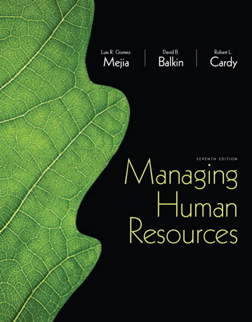 Managing Human Resources, CourseSmart eTextbook, 7th Edition