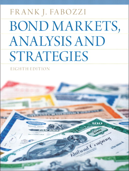 Bond Markets, Analysis, and Strategies, CourseSmart eTextbook, 8th Edition