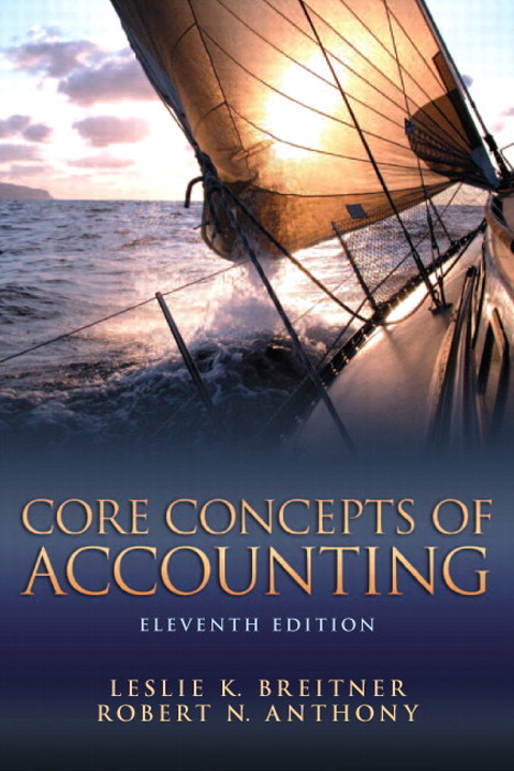 Core Concepts of Accounting, CourseSmart eTextbook, 11th Edition