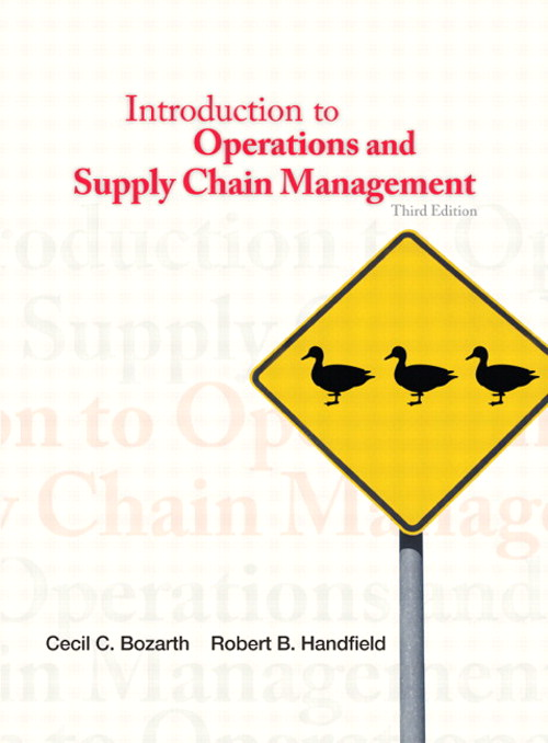Introduction to Operations and Supply Chain Management, CourseSmart eTextbook, 3rd Edition