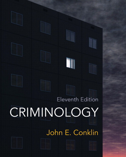 Criminology, 11th Edition