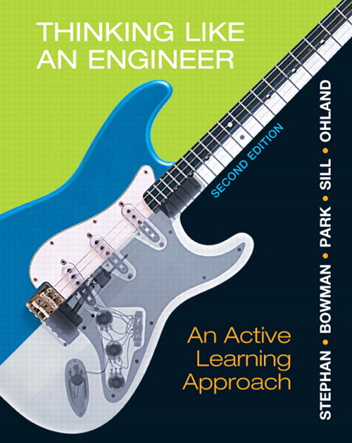 Thinking Like An Engineer: An Active Learning Approach, CourseSmart eTextbook, 2nd Edition