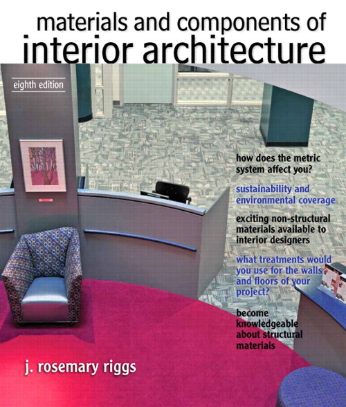 Materials and Components of Interior Architecture, CourseSmart eTextbook, 8th Edition