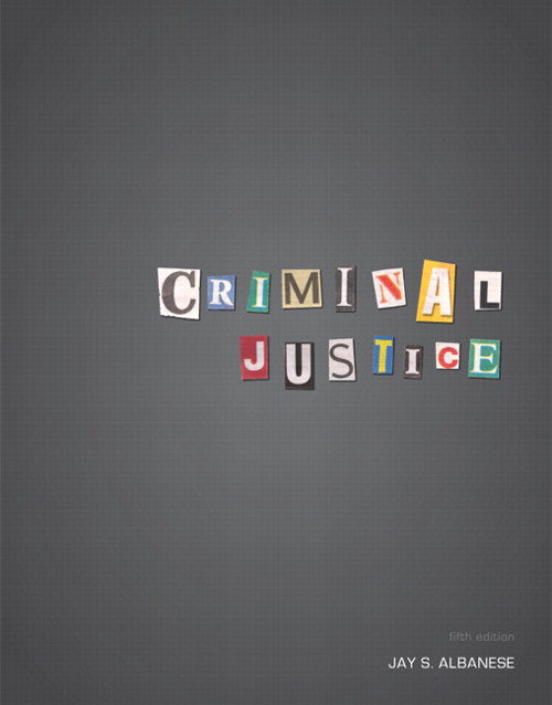 Criminal Justice, CourseSmart eTextbook, 5th Edition