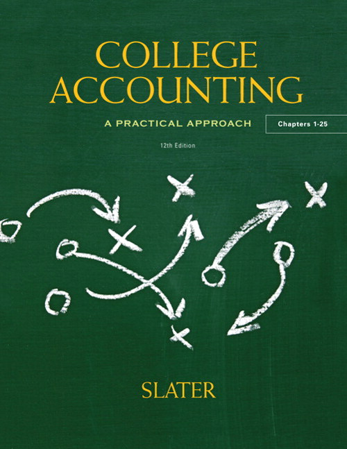College Accounting, CourseSmart eTextbook, 12th Edition