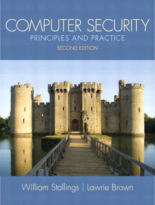 Computer Security: Principles and Practice, CourseSmart eTextbook, 2nd Edition