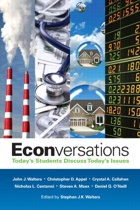 Econversations: Today's Students Discuss Today's Issues, CourseSmart eTextbook