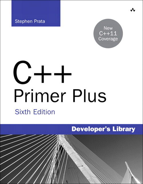 C++ Primer Plus, CourseSmart eTextbook, 6th Edition
